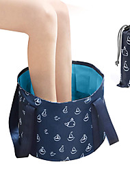 cheap -Collapsible Bucket for Soaking Feet Portable Travel Foot Bath Tub Folding Foot Spa Soak Basin Water Container for Camping Picnic