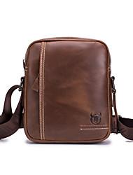 cheap -men's genuine leather shoulder bag colorless casual handbag trend korean single shoulder messenger bag
