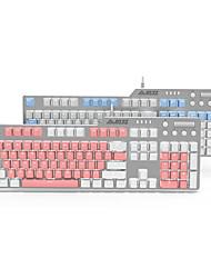 cheap -AJAZZ AK35I USB Wired Mechanical Keyboard Mechanical White Backlit 104 pcs Keys
