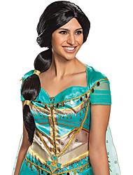 cheap -halloweencostumes Jasmine Disguise Aladdin Live Action Jasmine Wig Adult Only Wig