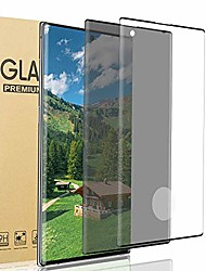 cheap -[2 pack] galaxy note 20 ultra privacy/hd screen protector [anti-spy] [9h hardness] [sensitive touch] [3d full edge cover] tempered glass film, for samsung galaxy note 20 ultra