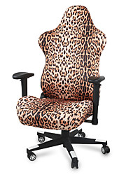 cheap -Houndstooth Printed Ergonomic Office Computer Game Chair Slipcovers Stretchy Polyester Covers for Reclining Racing Gaming Gaming Chair (No Chair)