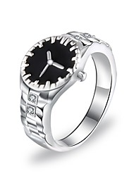 cheap -Ring Classic Silver Alloy Stylish Simple 1pc 7 8 9 10