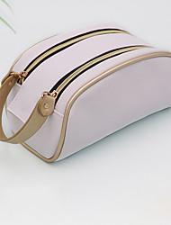 cheap -Storage Organization Cosmetic Makeup Organizer PU Leather Irregular shape Portable 20*12*12CM