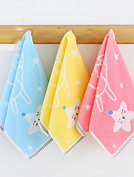 cheap -1 Pc 100% Cotton Premium Ring Spun Hand Kitchen Shower Towel(Set) Machine Washable Super Soft Highly Absorbent Quick Dry For Bathroom Hotel Spa Animal Kids 25*50cm