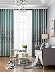 cheap -Window Drapes Curtain Window Treatments 2 Panels Room Darkening Animal Birds for Living Room Bedroom Patio Sliding Door