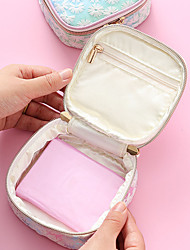 cheap -Storage Organization Cosmetic Makeup Organizer PVC Foam Board Square Portable 12*12*5cm