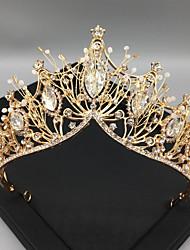 cheap -Wedding Crown Baroque Bride Princess Headdress Wedding Dress With Dress Hair Accessories Wild Hair Accessories