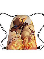cheap -Bag Inspired by One Piece Monkey D. Luffy Portgas D. Ace Cosplay Anime Cosplay Accessories Bag Polyester Women's Men's Halloween Costumes