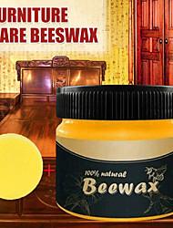 cheap -Wood Seasoning Beewax Wood Care Wax Solid Wood Maintenance Cleaning Polished Waterproof Wear-Resistant Wax Furniture Care