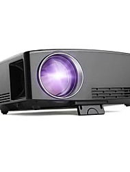 cheap -GP80UP LCD Projector WIFI Projector Keystone Correction Manual Focus WiFi Bluetooth Projector 720P (1280x720) 3000 lm Compatible with TV Stick HDMI USB