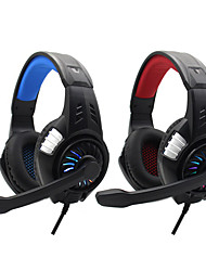 cheap -S80 Gaming Headset USB 3.5mm Audio Jack PS4 PS5 XBOX Ergonomic Design Retractable Stereo for Apple Samsung Huawei Xiaomi MI  PC Computer Gaming