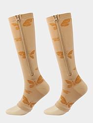 cheap -Comfort Sport Women's All Socks Solid Colored Stockings Socks Medium Sport Black 1 1 Pair / Sport Socks / Athletic Socks