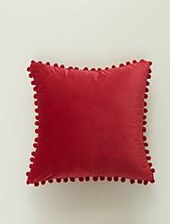 cheap -xu ai modern minimalist living room dutch velvet cushion cover big ball edge ins nordic style pillowcase without core