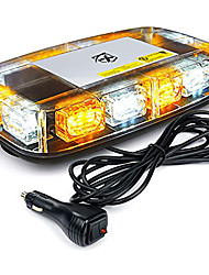 cheap -OTOLAMPARA 15 Flashing Models Amber LED Warning Light Rooftop 12 inches Mini Emergency Strobe Lights Bar 36W Warning Caution Beacon Light Magnetic Base for Safety Tow Truck Snowblower