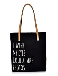 cheap -Women's Bags Canvas Crossbody Bag Zipper Daily Outdoor 2021 Canvas Bag Tote White Black Brown