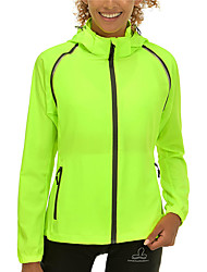 cheap -Women's Cycling Jacket Winter Bike Top Waterproof Windproof Quick Dry Sports Solid Color Dark Green / Blue / Green Clothing Apparel Bike Wear / Long Sleeve / Micro-elastic / Athleisure