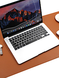 cheap -Large Colored Leather Gaming writing  Mouse Pad back to school gift office Non-Slip Base Water Resist Keyboard Pad Desk Mat