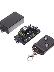 cheap -DC12V 1CH RF Wireless Remote Control Switch /Learning Code Relay Receiver with 10A Relay / NO COM NC Receiver 433mhz