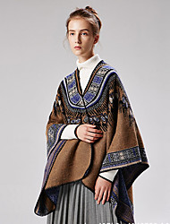 cheap -The new ladies thickened slit shawl abstract jacquard cross-border for Amazon sales 130x150CM