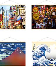 preiswerte -stoff hängende gemälde poster japanisches ukiyo-e hängendes bild nach hause izakaya hotel dekoration