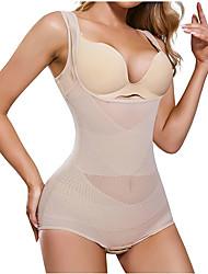 cheap -Women Waist Trainer Bodysuit Full Body Shaper Vest Tummy Control Slim Corset Shapewear Tank Tops