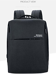 cheap -16 Inch Laptop Commuter Backpacks Polyester Solid Color for Men for Women for Business Office Waterpoof Shock Proof