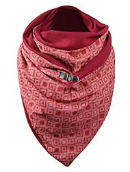cheap -Women's Infinity Scarf Dailywear Red Scarf Print