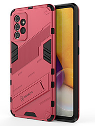 cheap -Phone Case For Samsung Galaxy Back Cover Galaxy A32 Galaxy A52 Galaxy A72 Galaxy M12 Galaxy M31 Galaxy M51 Galaxy A22 5G Galaxy A22 4G Galaxy M32 Shockproof Dustproof with Stand Solid Colored TPU