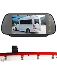 cheap -PZ473 Other 600TVL 1/4 inch CMOS PC7030 170 Degree 170 ° Rear View Camera / Car Reversing Monitor Plug and play / 360° monitoring / Real-time Traffic for Car