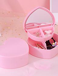 cheap -Storage Organization Cosmetic Makeup Organizer Plastic Irregular shape Portable / Novelty 13.5*5.5cm