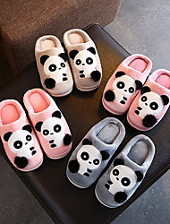 cheap -children's cotton slippers winter kids cute indoor warm package with boys and girls home non-slip parent-child slippers in winter