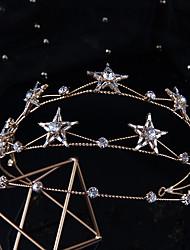 cheap -Bridal Headdress Crown Alloy Diamond Wedding Hair Accessories Princess Crown Dress Accessories