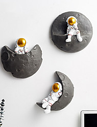 cheap -Astronaut Wall Shelter Ornaments Children's Room Bedside Wall Decoration Living Room Tv Background Wall Pendant