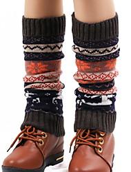 cheap -Fashion Comfort Women's Socks Christmas Socks Leg Warmers Warm Christmas Wine 1 Pair