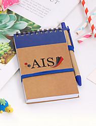 cheap -Blue Kraft paper Journal Notebook back to school gift office Diary Planner Agenda Sketchbook Suitable