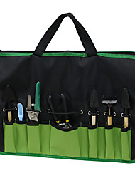 cheap -Dual-purpose Two-in-one Garden Trimming Tools Apron bBag Oxford Cloth Material 1PC