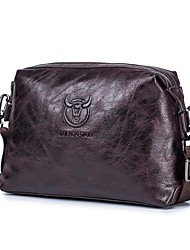 cheap -men's genuine leather sling shoulder messenger bag male leather large-capacity first layer ipad small bag