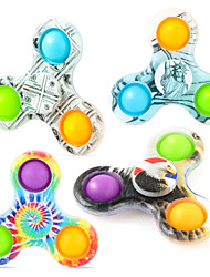cheap -Fidget Spinner Squishies Multicolor Pattern Squeeze Toy / Sensory Toy Stress Reliever 2/4 pcs Portable Gift Cute Stress and Anxiety Relief For Kid's Adults' Boys and Girls Home Christmas Gifts Work