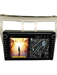 cheap -Android 9.0 Autoradio Car Navigation Stereo Multimedia Player GPS Radio 8 inch IPS Touch Screen for Toyota VIOS 2008-2013 1G Ram 32G ROM Support iOS System Carplay