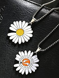 cheap -Men's Necklace Friends Romantic Vintage European Folk Style Alloy Yellow Red 60 cm Necklace Jewelry 1pc For Street Festival