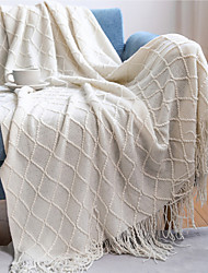 cheap -Amazon 2021 Diamond Sofa Blanket Travel Blanket Summer Office Blanket Air Conditioning Room Blanket Cape 127*152cm