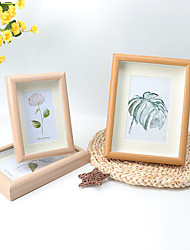 cheap -wooden stereo hollow creative photo frame set wholesale 6 7 8 10 16 inch a4 nordic wall hanging square picture frame