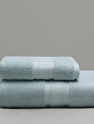 cheap -1 Pc 100% Cotton Premium Ring Spun Hand Kitchen Shower Towel(Set) Machine Washable Super Soft Highly Absorbent Quick Dry For Bathroom Hotel Spa Solid 75*140cm