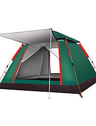 cheap -4 person Screen Tent Screen House Outdoor Waterproof UV Protection Well-ventilated Single Layered Automatic Instant Cabin Camping Tent 1500-2000 mm for Camping / Hiking Taffeta Polyester Taffeta