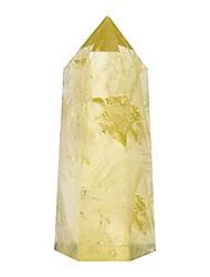 cheap -natural hexagonal crystal quartz healing fluorite wand stone purple green gem