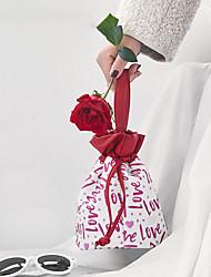 cheap -New Tanabata Valentine's Festival Gift Bundle Pocket Drawcord Travel Finishing Bag Washing Storage Bag Cosmetic Bag  23*15*22.5cm
