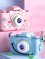 cheap -X5S Kids Camera Rechargeable Recording Image and Video Function Kids Games E-book 2 inch 20.0MP CMOS Gift