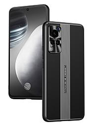 cheap -Phone Case For Vivo Back Cover vivo X60 vivo X60 Pro Shockproof Dustproof Lines / Waves TPU