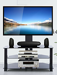 cheap -3 Tier Floor TV Stand Table with Mount for 32-70 LED LCD Screen TVs